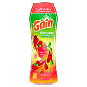 Gain Fireworks Tropical Sunrise Scent In-Wash Scent Booster