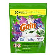 Gain Flings! 3 in 1 Moonlight Breeze + Oxi Boost + Febreze Liquid Detergent Pacs