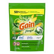 Gain Flings! 3 in 1 Original + Oxi Boost + Febreze Laundry Detergent Pacs