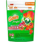 Gain Flings! 3 In 1 Tropical Sunrise + Oxi Boost + Febreze Liquid Detergent Pacs