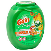 Gain Flings! HE Island Fresh Scent Laundry Detergent Pacs