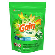 Gain Flings! HE Original + Oxi Boost + Febreze Laundry Detergent Pacs