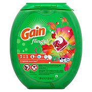 Gain Flings! HE Tropical Sunrise Scent Laundry Detergent Pacs
