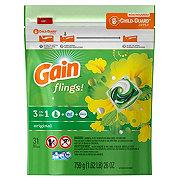 Gain Flings! Original Scent HE Laundry Detergent Pacs