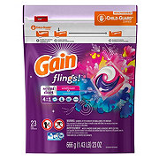 Gain Flings! Wildflower & Waterfall Scent HE Laundry Detergent Pacs