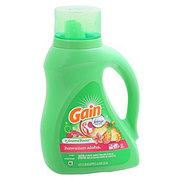 Gain Hawaiian Aloha with Febreze Liquid Laundry Detergent 50 oz