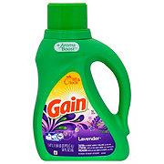 Gain HE Lavender Liquid Laundry Detergent 50 oz