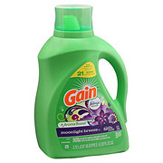 Gain HE Moonlight Breeze with Febreze Liquid Laundry Detergent 48 Loads