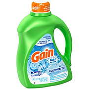 Gain Icy Fresh Fizz with Oxi Boost HE Liquid Detergent 52 Loads