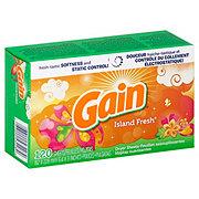 Gain Island Fresh Fabric Softener Sheets