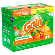 Gain Island Fresh HE Powder Laundry Detergent, 40 Loads