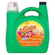 Gain Island Fresh Liquid Laundry Detergent, 96 Loads