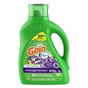 Gain Moonlight Breeze with Febreze HE Liquid Laundry Detergent, 48 Loads