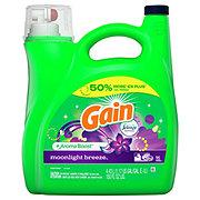Gain Moonlight Breeze with Febreze HE Liquid Laundry Detergent, 72 Loads