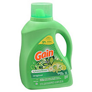 Gain Original HE Liquid Laundry Detergent, 64 Loads