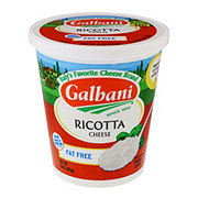 Galbani Ricotta Cheese, Fat Free