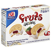 Gamesa Arcoiris Fruts Marshmallow Cookies Filled with Strawberry Jam