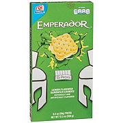 Gamesa Emperador Lime Sandwich Creme Cookies