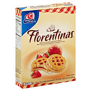 Gamesa Florentinas Mini Tart with Strawberry Flavored Filling Cookies