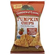 Garden of Eatin Pumpkin Tortilla Chips