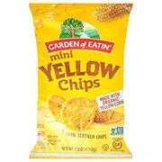 Garden of Eatin Tortilla Chips Mini Yellow Rounds