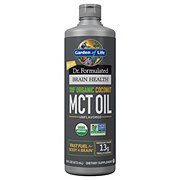 Garden of Life Dr. Formulated Brain Health 100% Coco MCT Oil