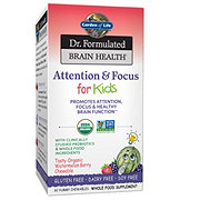 Garden of Life Dr. Formulated Brain Health Attention & Focus Kids