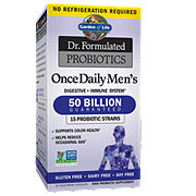 Garden of Life Dr. Formulated Probiotics, Once Daily Men's