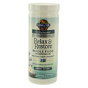 Garden of Life Dr. Formulated Relax & Restore Whole Food Magnesium, Original
