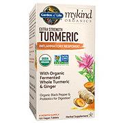 Garden of Life My Kind Organic Extra Strength Turmeric Tablets