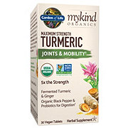 Garden of Life My Kind Organic Maximum Strength Turmeric Tablets