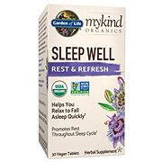 Garden of Life My Kind Organic Sleep Well Rest & Refresh