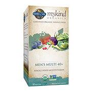 Garden of Life mykind Organics Men's 40+ Multivitamin Tablets