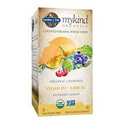 Garden of Life mykind Organics Vegan D3 Chewable Tablets