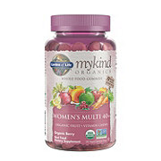 Garden of Life Mykind Organics Womens 40+ Multi Gummies Berry