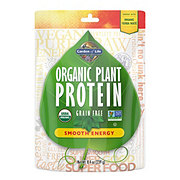 Garden of Life Organic Plant Protein Powder Smooth Energy