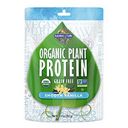 Garden of Life Organic Plant Protein Powder, Vanilla