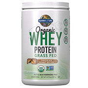 Garden of Life Organic Whey Peanut Butter Chocolate