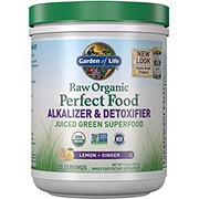 Garden of Life Perfect Food Alkalizing & Detoxifier Raw Organic Green Super Food
