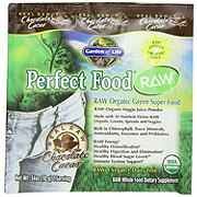 Garden of Life Perfect Food Chocolate Raw Organic Green Super Food Packet