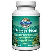 Garden of Life Perfect Food Super Green Formula Caplets