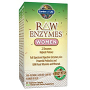 Garden of Life Raw Enzymes Women Vegetarian Capsules