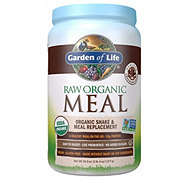Garden of Life Raw Organic Meal Chocolate Shake & Meal Replacement Powder