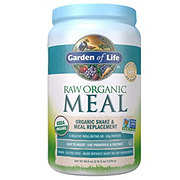 Garden of Life Raw Organic Meal Lightly Sweet Shake & Meal Replacement Powder