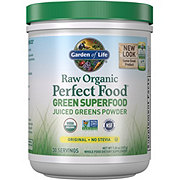 Garden of Life Raw Organic Perfect Food Green Superfood Original No Stevia Juiced Greens Powder