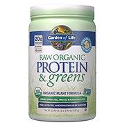 Garden of Life Raw Organic Protein & Greens Vanilla Powder