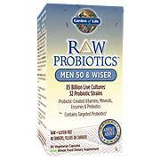 Garden of Life Raw Probiotics Men 50 Wiser