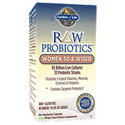 Garden of Life Raw Probiotics Women 50 & Wiser Vegetarian Capsules