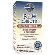 Garden of Life Raw Probiotics Women 50 & Wiser Vegetarian Capsules