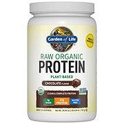 Garden of Life Raw Protein Chocolate Cacao Organic Protein Powder